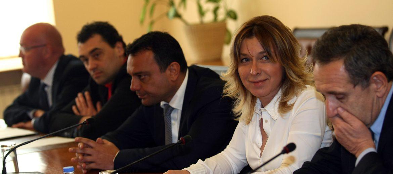 Среща между транспортния министър Ивайло Московски и представители на НСАП