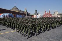 epa05296400 Russian special operations soldiers march during a military parade on Red Square in Moscow, Russia, 09 May 2016. Russia celebrates the 71st anniversary of the victory over the nazi Germany in the World War II.  EPA/YURI KOCHETKOV