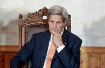 epa05366168 US Secretary of State John Kerry attends the Oslo Forum, in Oslo, Norway, 15 June 2016. Kerry is on an official visit to Norway during which he - according to news reports - also met with his Iranian counterpart behind closed doors in an Oslo hotel to speak about the lifting of sanctions against Iran following the 2015 nuclear deal.  EPA/LISE AASERUD NORWAY OUT