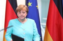 epa05387536 German Chancellor Angela Merkel delivers a statement on the results of Britain's EUreferendum, at the Federal Chancellery inBerlin,Germany, 24 June 2016. Britons in a referendum on 23 June have voted by a narrow margin to leave the European Union (EU). Media reports on early 24 June indicate that 51.9 per cent voted in favour of leaving the EU while only 48.1 per cent voted for remaining in.  EPA/KAY NIETFELD