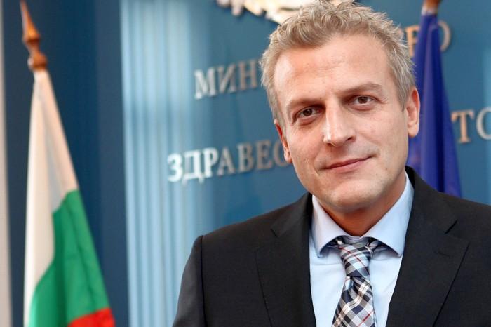 Петър Москов, министър на здравеопазването