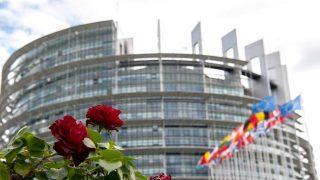 Европейският парламент в Страсбург, Франция