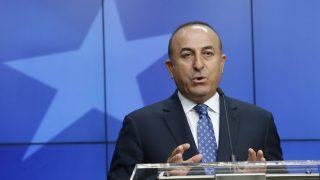 Мавлют Чавушоглу, външен министър на Турция снимка: БГНЕС
