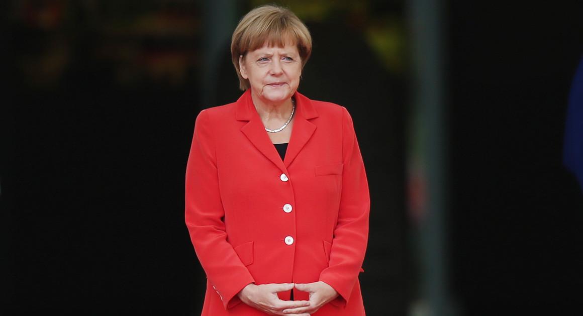 Снимка: Politico Ангела Меркел