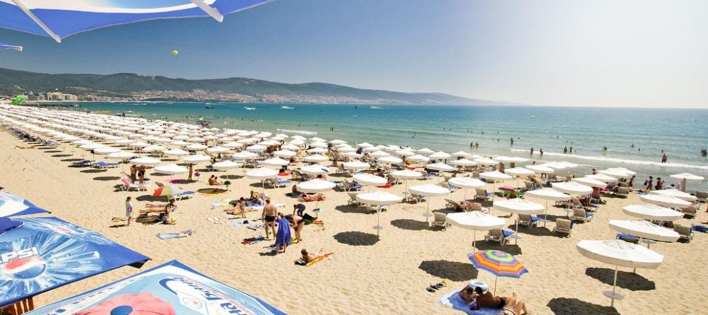 Слънчев бряг курорт Черно море, плаж