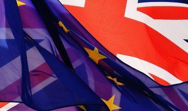 ЕС, Великобритания знаме