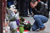 Париж след терора снимка: www.cp24.com