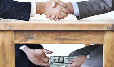подкуп корупция пари