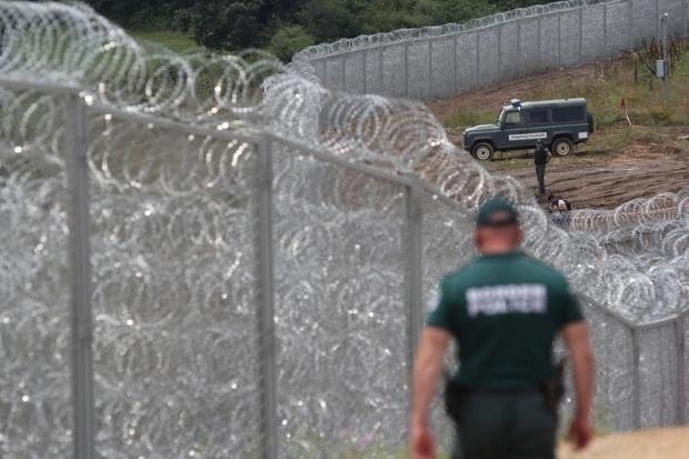ограда, граница