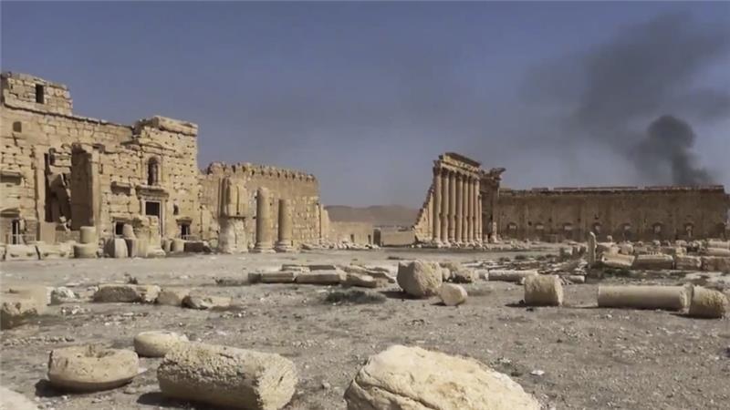 Палмира, Сирия Снимка: aljazeera.com