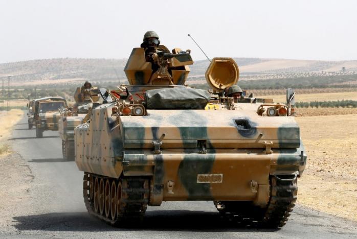 Турски военни сили Снимка: REUTERS/Umit Bektas