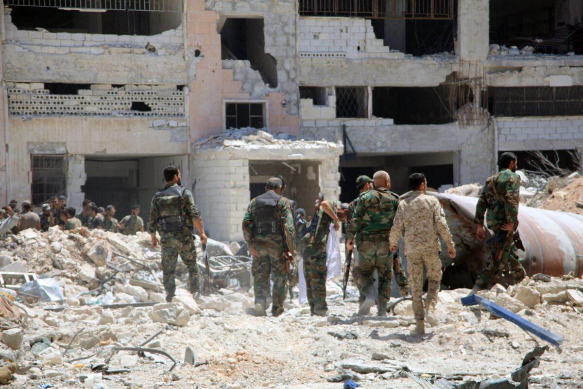 Алепо снимка: ЕПА/БГНЕС