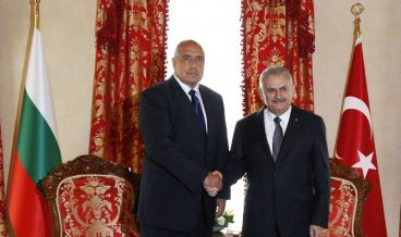 Бойко Борисов и турският премиер Бинали Йълдъръм