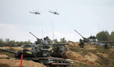 руска армия, учения военни
