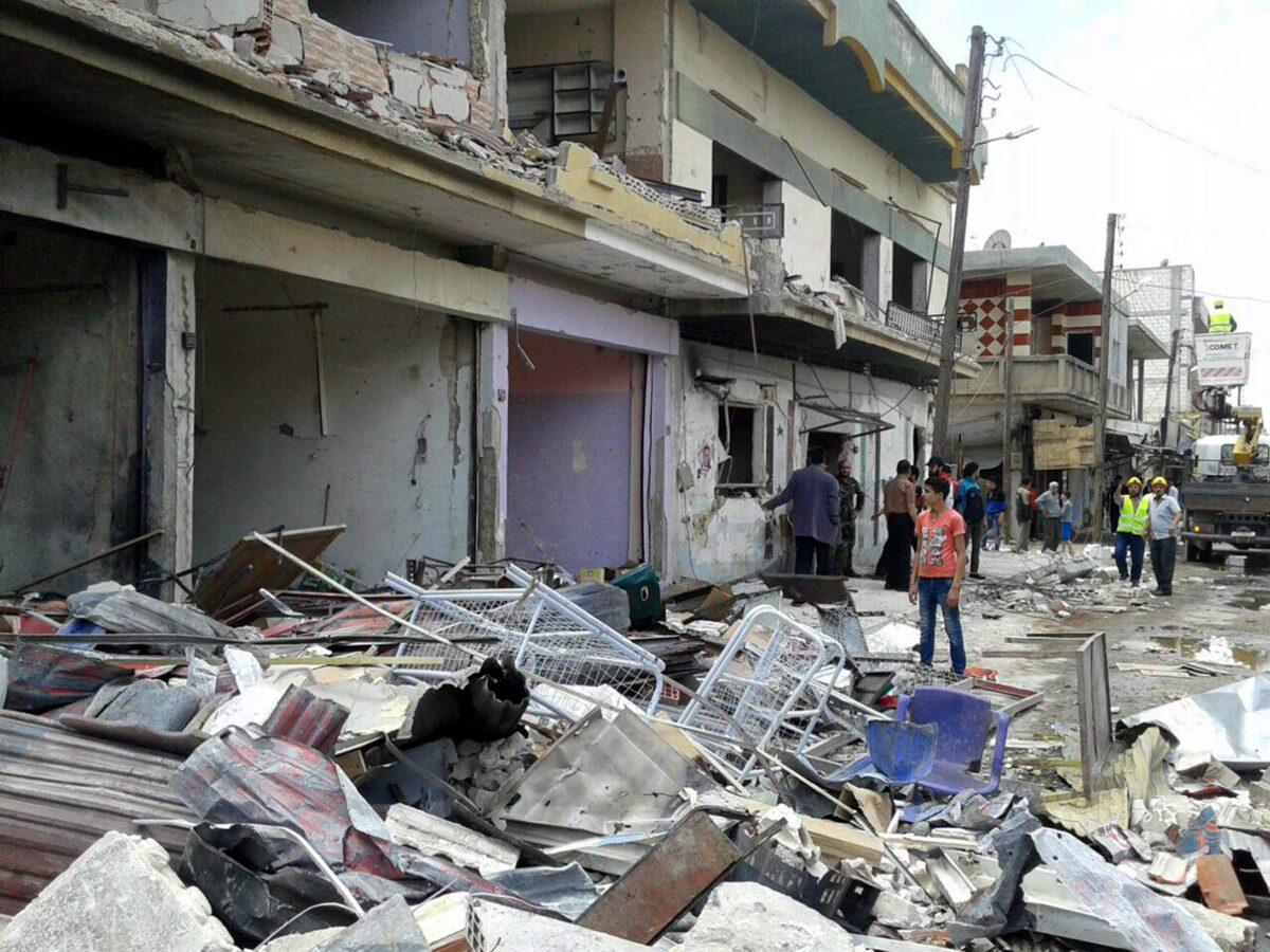 Разрушения в Сирия, снимка: ЕПА/БГНЕС