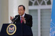 Бан Ки-мун, генерален секретар на ООН