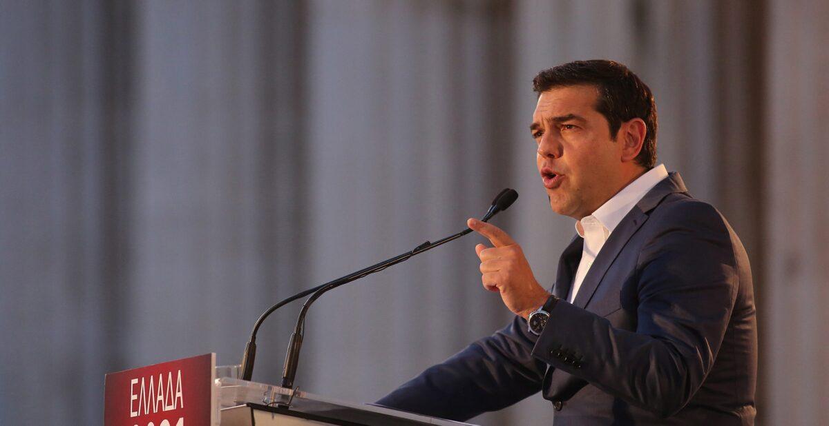 Алексис Ципрас, премиер на Гърция