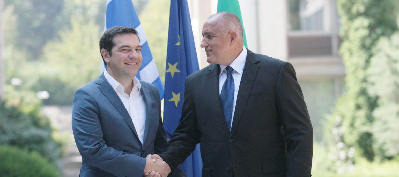 Бойко Борисов и Алексис Ципрас, снимка: БГНЕС