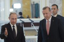 Владимир Путин, Реджеп Ердоган, снимка: БГНЕС