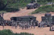 Южна Корея, САЩ, учения военни