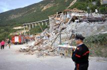 Италия, земетресение
