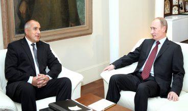 Бойко Борисов и Владимир Путин снимка: БГНЕС