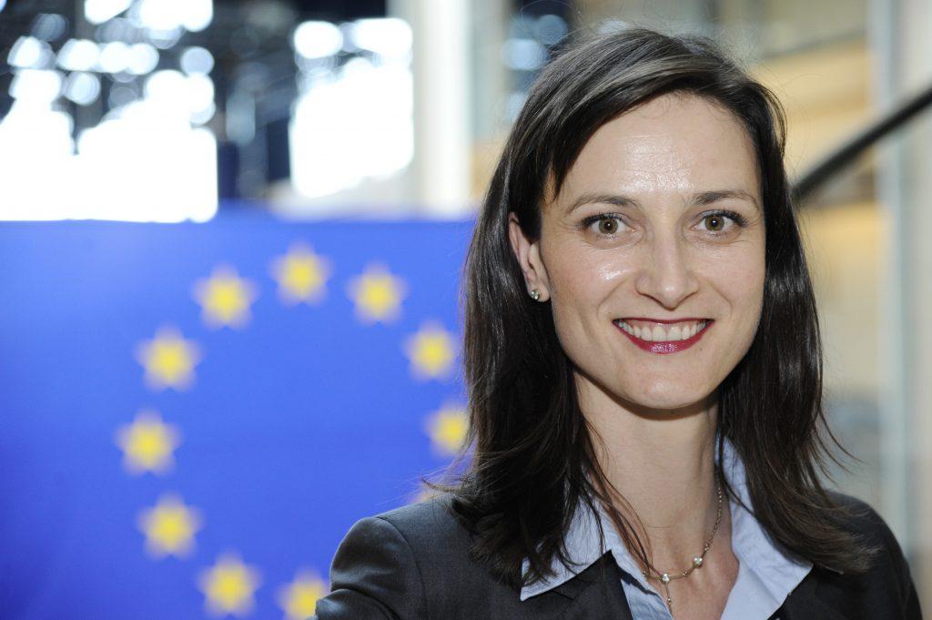 MEP Mariya GABRIEL at the European Parliament in Brussels