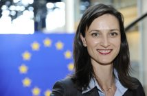MEP Mariya GABRIEL at the European Parliament in Brussels