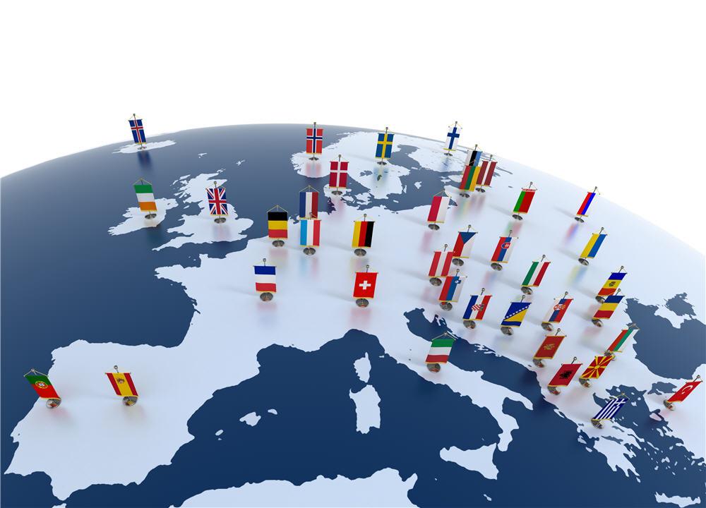 Европа, търговия