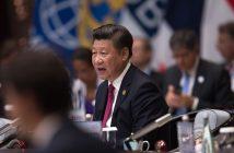 президентът на китай Xi Jinping