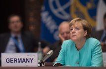 Ангела Меркел Кадър от срещата на Г-20