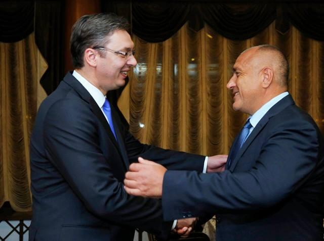 Бойко Борисов и Александър Вучич