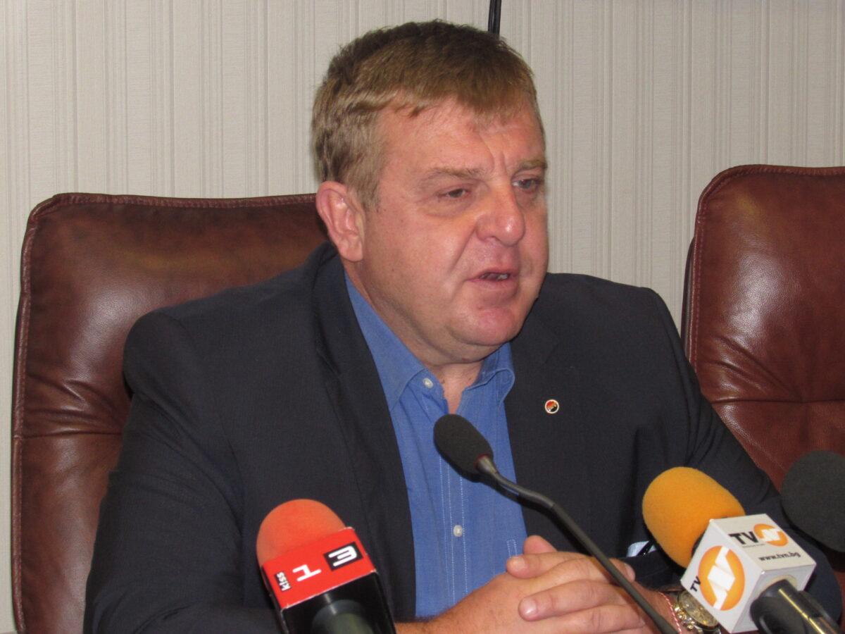 Красимир Каракачанов снимка: БГНЕС