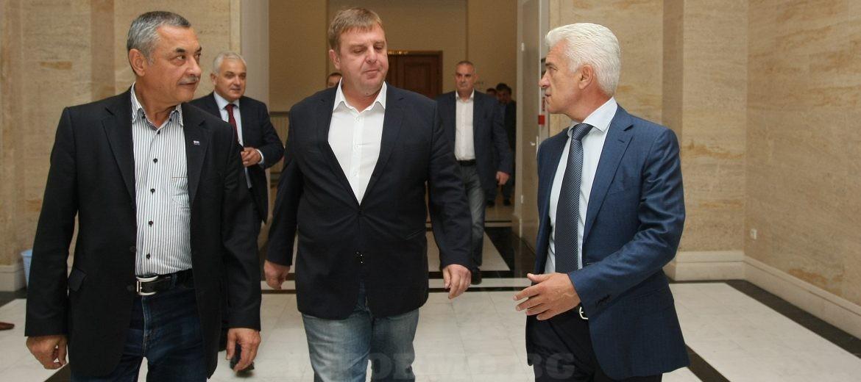 """Обединени патриоти"" снимка: БГНЕС"