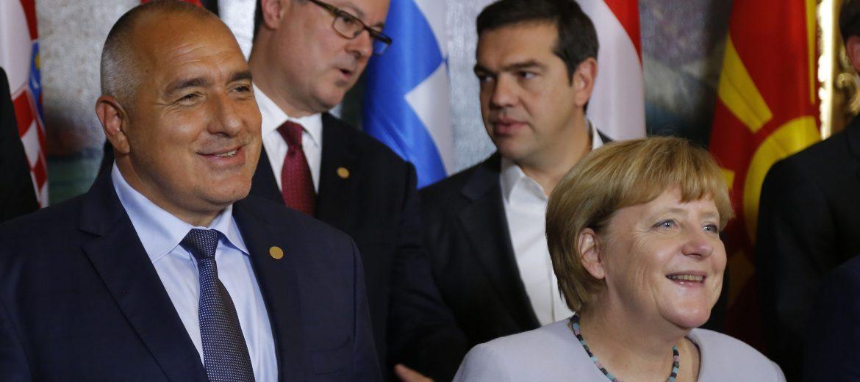 Борисов, Меркел Виена