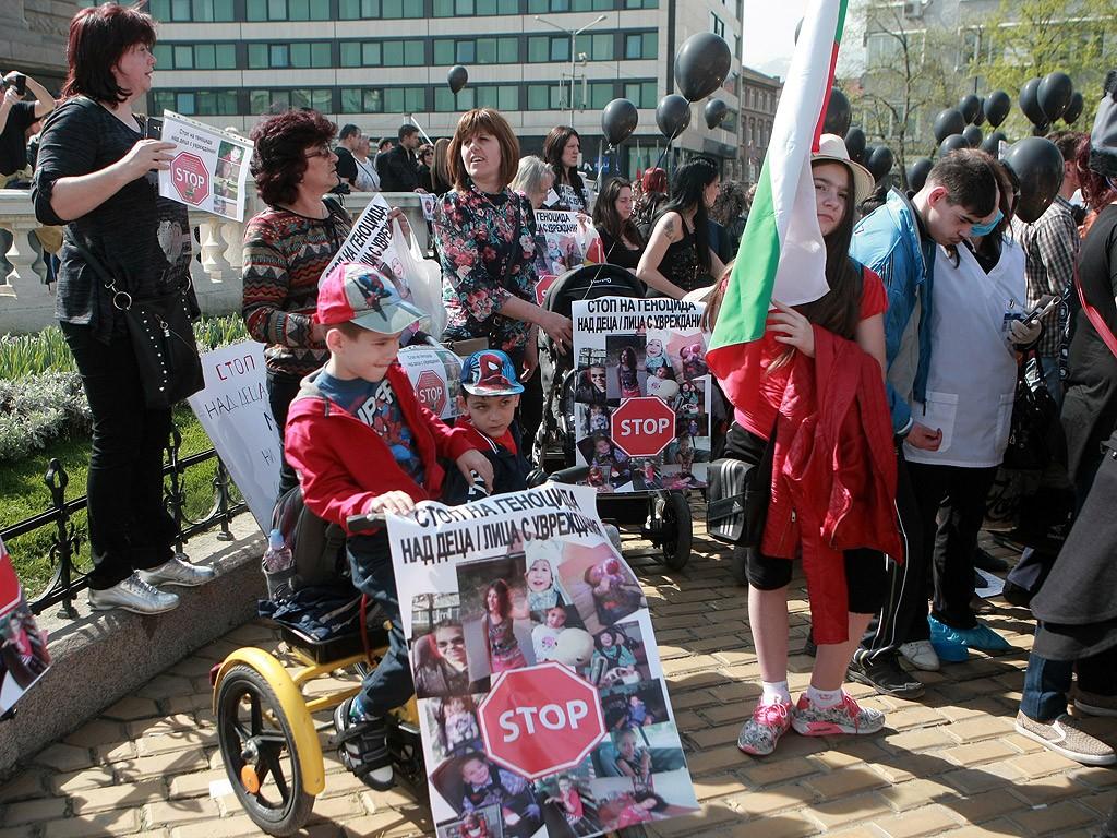 Резултат с изображение за майките на деца с увреждания