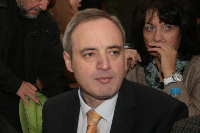 """проф. Анастас Герджиков, ректор на СУ """"Св. Климент Охридски"""""""