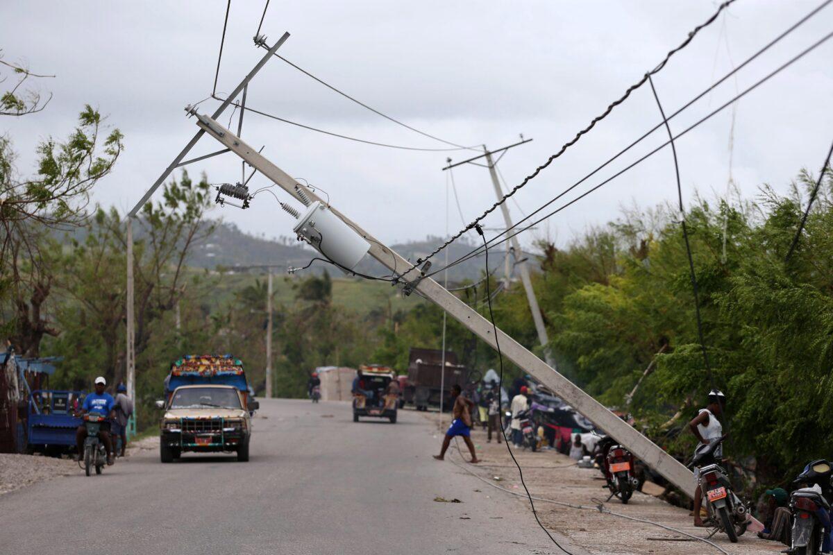 ураган ''Матю'', Хаити