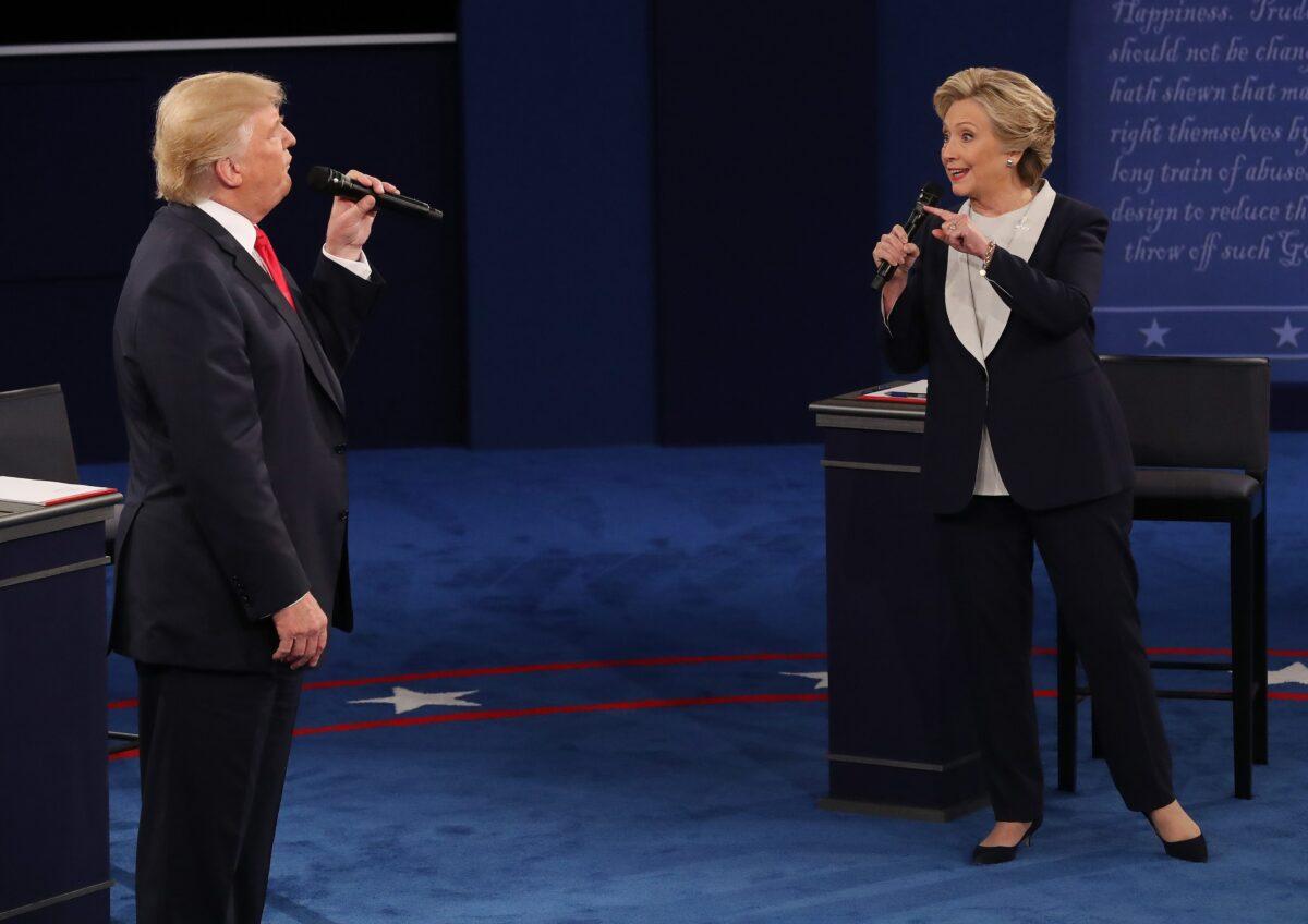 Доналд Тръмп и Хилари Клинтън снимка: ЕРА/БГНЕС