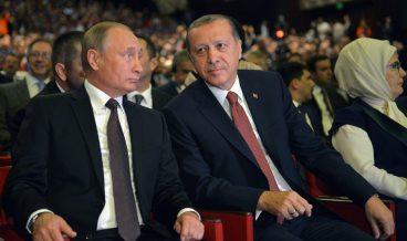 Владимир Путин и Реджеп Ердоган снимка: ЕРА/БГНЕС