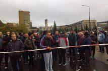 миньори, протест, Бобов дол