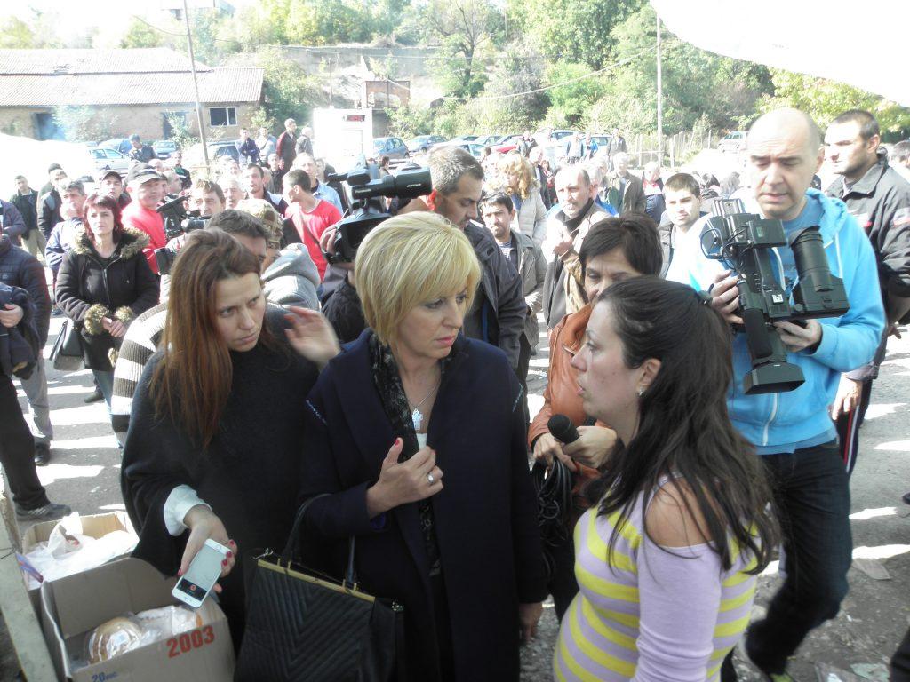 Мая Манолова в Бобов дол снимка: БГНЕС