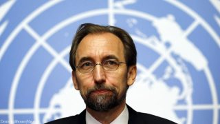 Върховният комисар на ООН за правата на човека Зеид Раад ал Хусейн