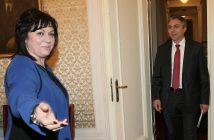 Корнелия Нинова и Мустафа Карадайъ, снимка: БГНЕС