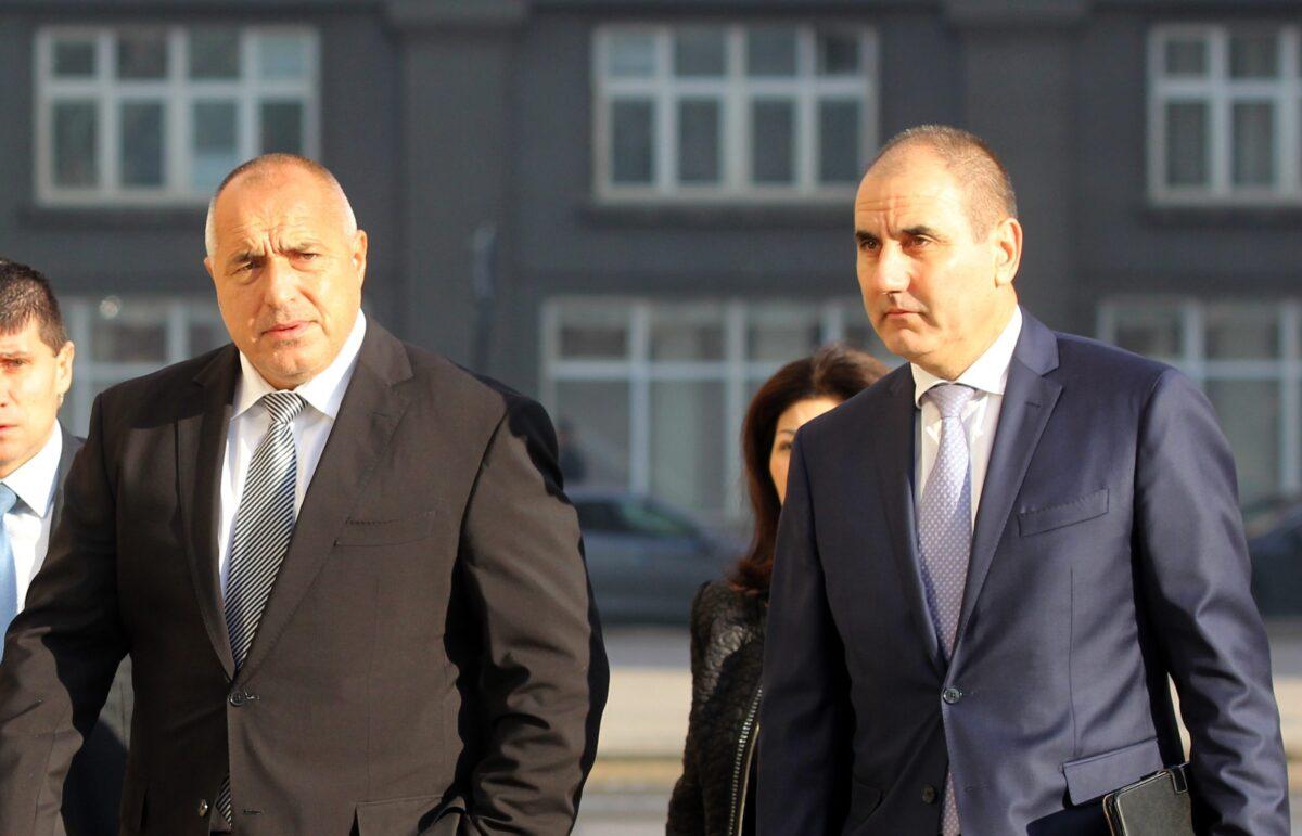 Бойко Борисов и Цветан Цветанов, снимка: БГНЕС