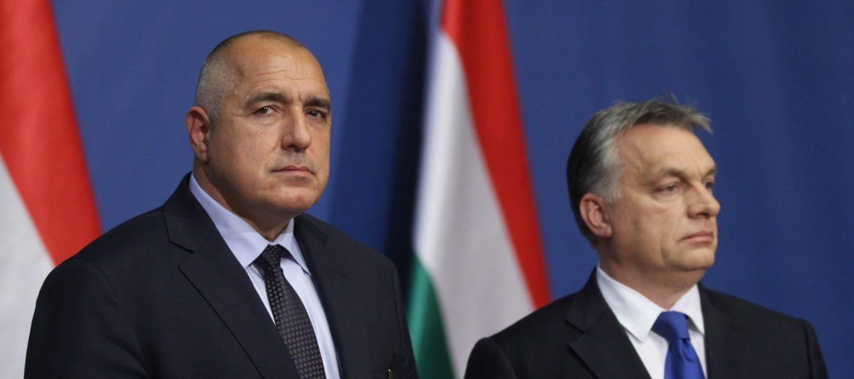 Виктор Орбан и Бойко Борисов, снимка: БГНЕС