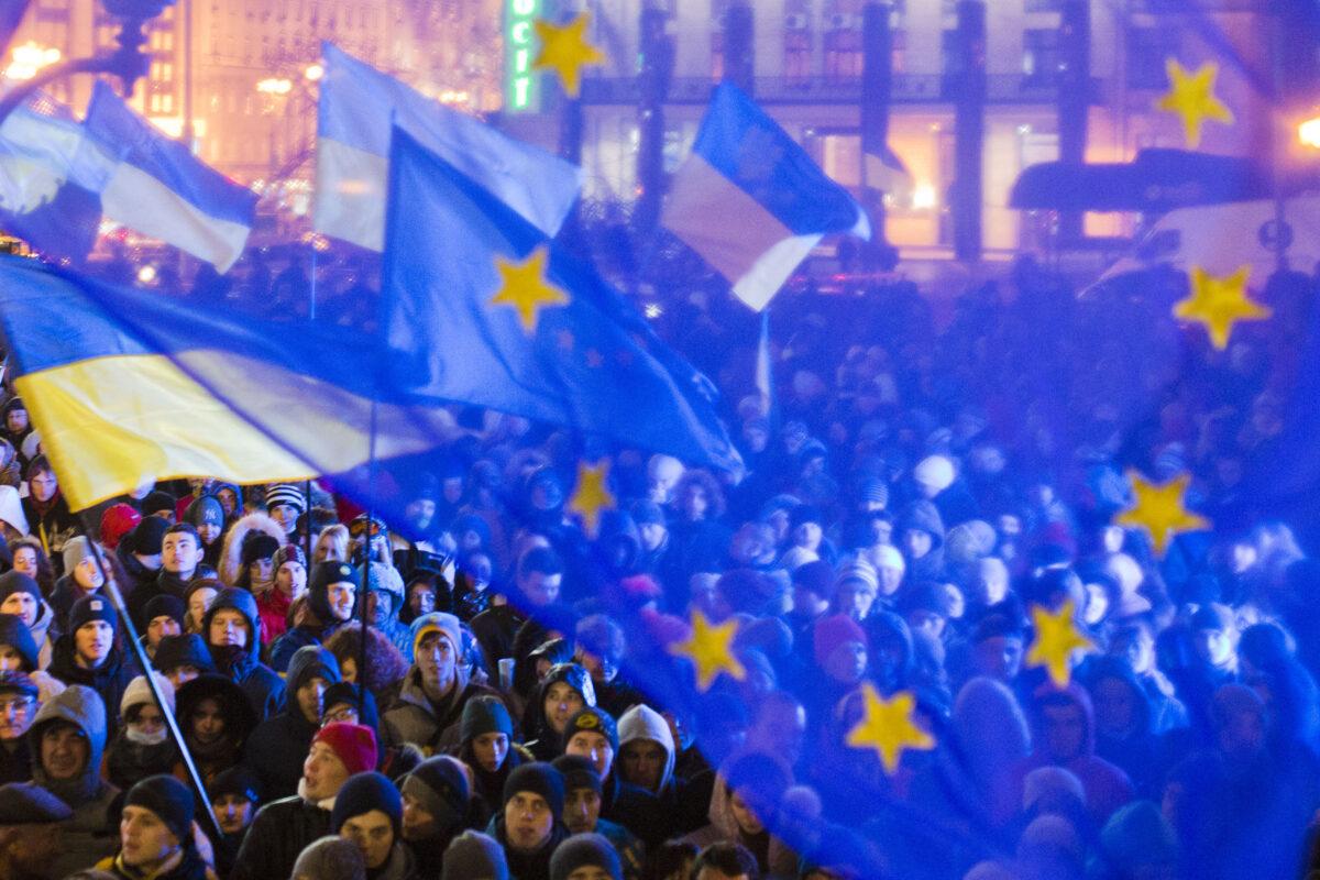 euromaidan украйна ес