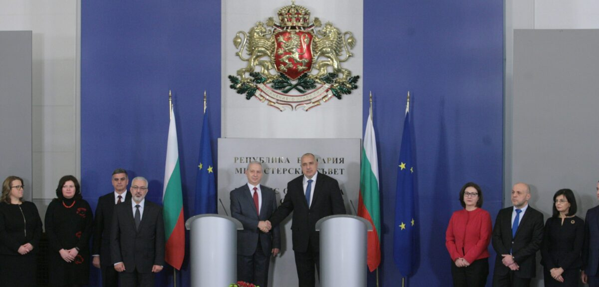Бойко Борисов, Огнян Герджиков, министри