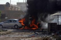 Експлозията в Багдад Снимка: AFP