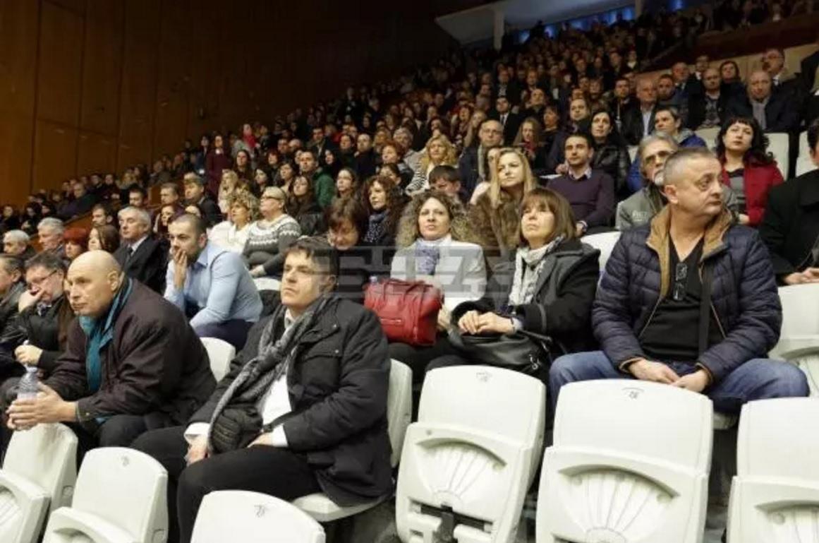 Общо събрание на прокурорите за избор на член на ВСС Снимка: БТА /Минко Чернев/